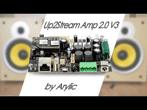 Up2Stream Amp 2.0 V3 от Arylic: стриминговая DIY-карта, сетевой проигрыватель и усилитель звука 100W