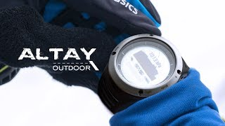 NORTH EDGE Altay watch features review