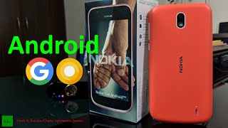 Nokia 1 Android Go Edition Unboxing, Features  & Review - Live the 2010 Life Again !!!