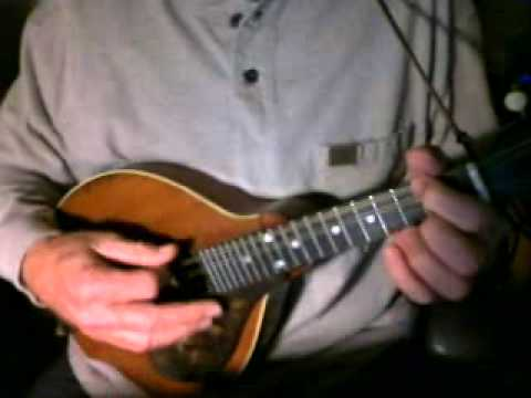 Billy the Kid - Ry Cooder mandolin cover
