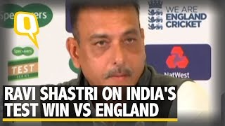 Ravi Shastri on India's Test Win Against England | The Quint