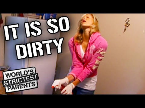 Drama Queen Teen Makes a Scene When Cleaning | World's Strictest Parents