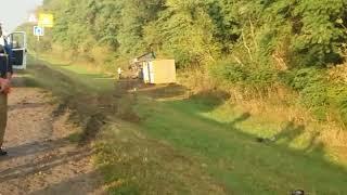ДТП 31.08.2017 на трассе в Краснодарском крае