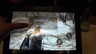 HP SlateBook X2 Nvidia Tegra 4 Tablet Hands On & Gaming Demo
