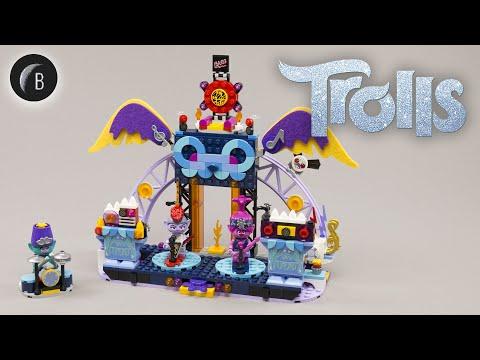 Vidéo LEGO Trolls World Tour 41254 : Le concert de Vulcarock City