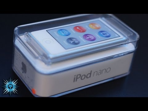 Apple iPod Nano 7th Generation Unboxing & Overview