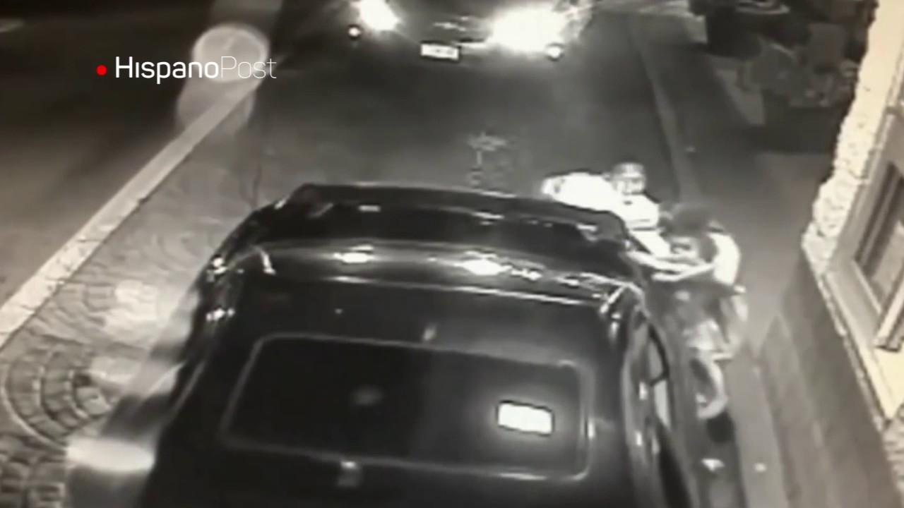 Mujer trató de salvar a su hija de un secuestro dejándola en un automac