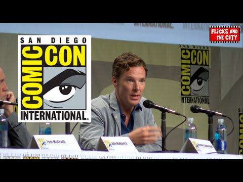 Benedict Cumberbatch Comic Con Interview - Sherlock Season 4, Doctor Strange, Penguins of Madagascar | MTW
