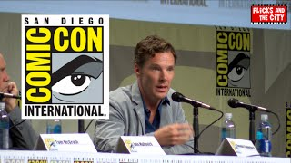 Бенедикт Камбербэтч, Benedict Cumberbatch Interview - Sherlock Season 4, Doctor Strange, Penguins of Madagascar - SDCC