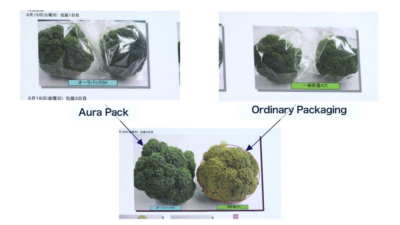 Super-Cellophane Can Keep Veggies Fresh For Months