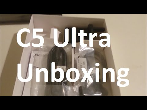 Sony Xperia C5 Ultra Unboxing Black Dual SIM Card International Version