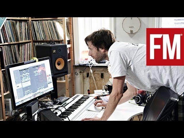 Lindstrøm i studio med Future Music