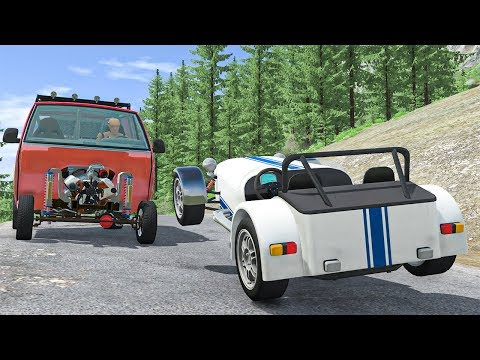 Traffic Crashes #12 - BeamNG DRIVE | SmashChan