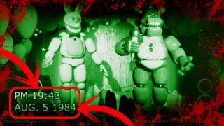 GRABACIÓN DE 1984 Y 1992 DE FREDDY FAZBEAR PIZZA   Vídeos Antiguos De Five Nights At Freddy's