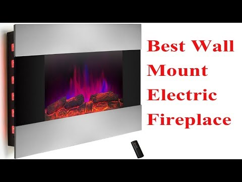 Best Wall Mount Electric Fireplace in 2018 | Best Wall Mount Electric Fireplace Review