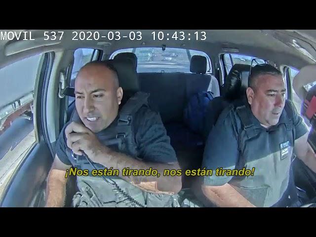 detienen a un delincuente tras cinematográfica persecución