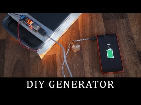 How to make a DIY Thermoelectric Generator