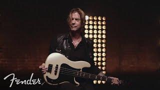 Duff McKagan Plays His Fender Signature Deluxe Precision® Bass | Signature Artist Series | Fender