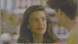 Kristin Davis 1992 Pre Melrose Place & Sex and the City Kraft Ranch Dressing Commercial