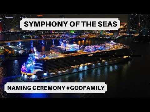 Royal Caribbean International - Our first Godfamily!