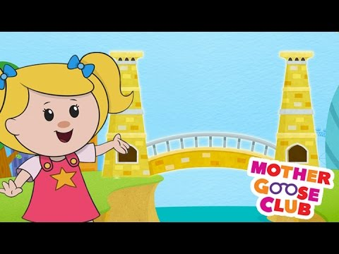 London Bridge Is Falling Down | Mother Goose Club Rhymes For Kids Mp3