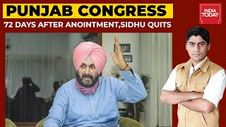 Navjot Singh Sidhu Quits As Punjab Congress Chief, 72 Days After Anointment | To The Point