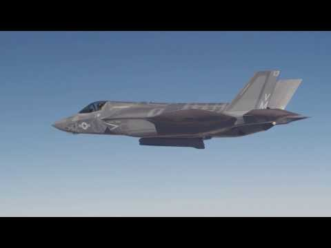 F-35 Completes Weapon Delivery Accuracy Test