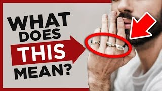 Ring Finger Meaning & Symbolism | How To Wear Rings Man's Video Guide | RMRS