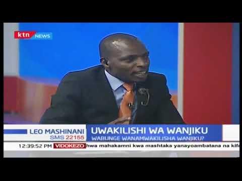 Uwakilishi wa Wanjiko: Mjukumu ya bunge   SEHEMU YA PILI