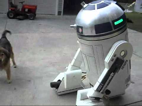 This Motorised R2-D2 Fits A Full Human Inside