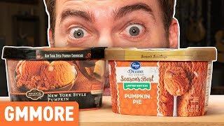 Pumpkin Ice Cream Taste Test