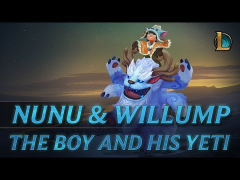 Nunu & Willump: To Adventure! | Champion Trailer – League of Legends