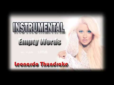 Empty Words [Christina Aguilera] Instrumental by Leonardo Thundrake