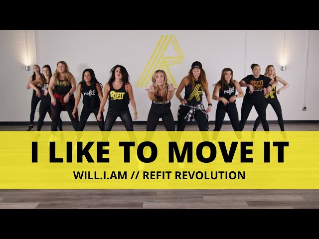 """""""I Like To Move It"""" 