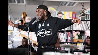 Burna Boy: NPR Music Tiny Desk Concert