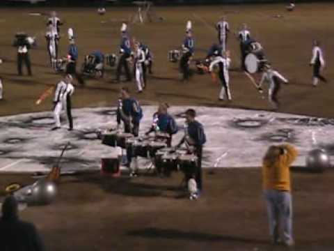 High School Drumline -- center tenor