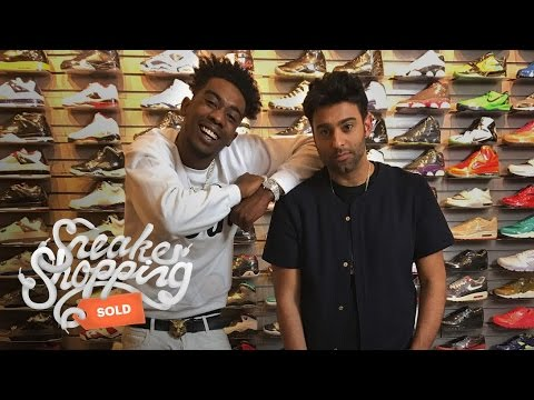Desiigner Goes Sneaker Shopping with Complex