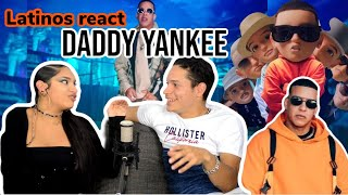 Latinos React To DADDY YANKEE   QUE TIRE PA' LANTE 🔥😍👏|reaction Video FEATURE FRIDAY ✌