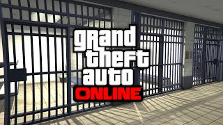 GTA 5 Secret Locations NEW Jail & Secret Police Station Entrance Online (GTA 5 Hidden Locations)