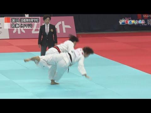 女子78kg級決勝戦