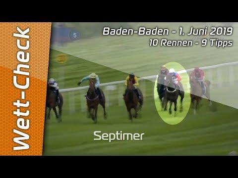 Wett-Check Baden-Baden - 1.6.2019