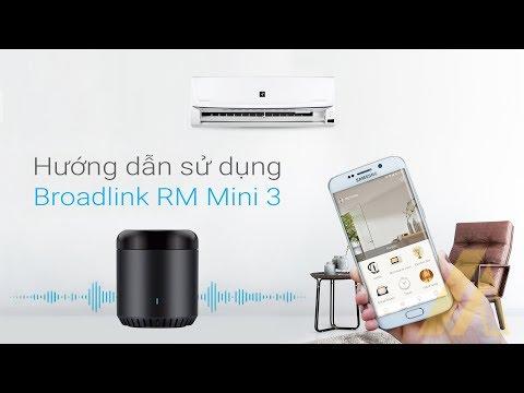 Thiết bị điều khiển hồng ngoại thông minh Broadlink RM Mini 3 | Abaro.vn
