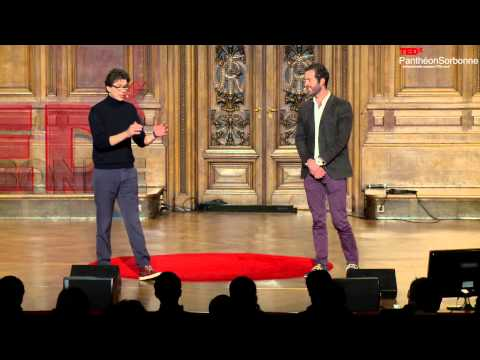 TEDxPanthéonSorbonne Will there be enough water on Earth Geoffroy and Loïc de la Tullaye
