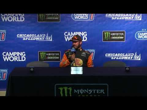 Truex on Busch comparisons: 'I can hold my emotions in check a little bit better'