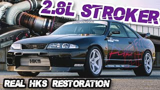 R33 GTR 2.8L Stroker The Modern HKS Race Car + 100% USA Legal R34 GTR ($50,000 RB Engine) by  That Racing Channel