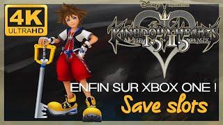❤️ [Test 4K]  Kingdom Hearts HD 1.5 + 2.5 ReMIX Save Slots sur Xbox One