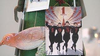 UTV. В Уфе начались новогодние ярмарки. На одной из них выбирают самую необычную елку