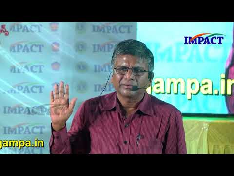 Self Talk | Sambamoorty | TELUGU IMPACT Hyd Apr 2018