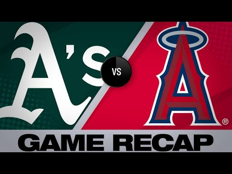 Calhoun, Ohtani power Angels to victory | Athletics Angels Game Highlights 6/27/19