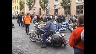 preview picture of video 'Klaipėda šventė festivalis Harley-Davidson  Festival in Lithuania'